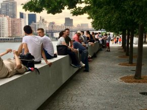 FDR Four Freedoms Park, July, 2017