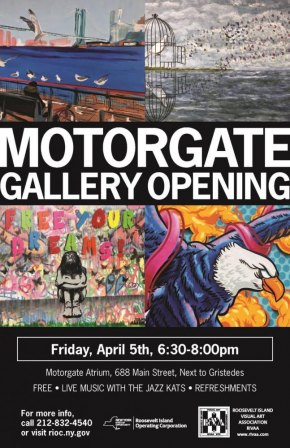 April 5th, Motorgate Gallery Opening for 2019