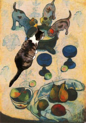Milk for Gauguin's Cat