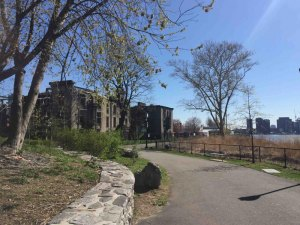 Southpoint Park, Renwick Smallpox Hospital Ruins
