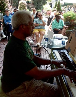 Roy Eaton Playing at Bryant Park