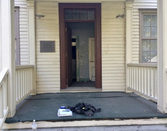 blackwell houseu0027s back door beckoned me in but was it trespassing