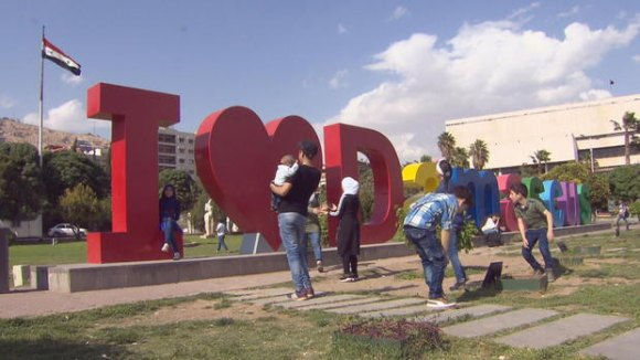 When Big Red Letters Actually Work - In War Torn Syria
