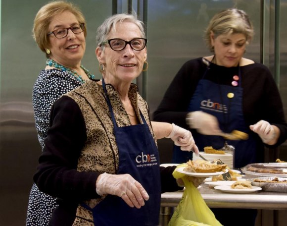 Volunteers from the Disabled Association, the Historical Society and the Senior Center, all beneficiaries of RIOC's largesse, served free Thanksgiving dinners to all who asked in 2018.