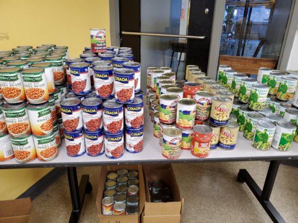 Free Food Pantry, Fridays, 546 Main Street, 4:00 to 6:30 P.M.