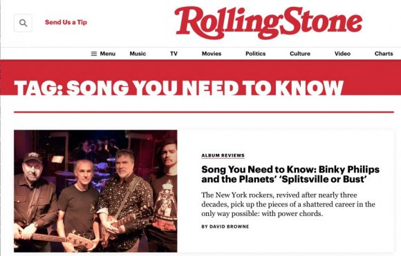 Screenshot from Rolling Stone...