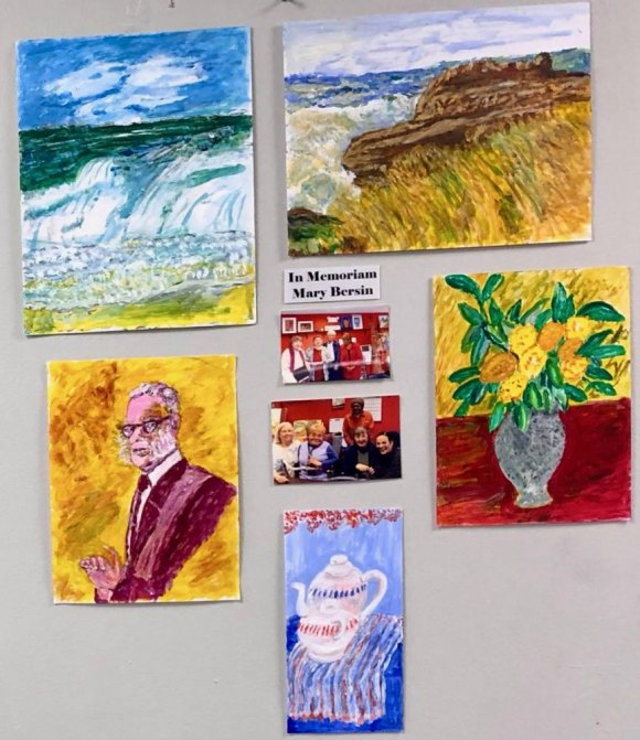Senior Center Art Salon, Loving Creativity