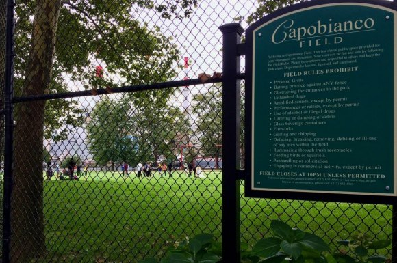 "Capobianco Park's popular with kids all year. Two drinking fountains were found to have methylene chloride, an EPA ""probable carcinogen."""