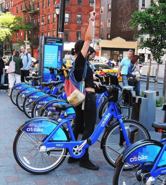 At RIOC: Bikes, Citi Bikes and More