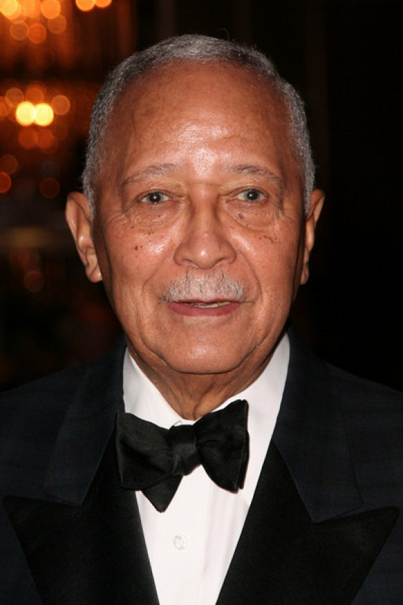 Former Mayor David N. Dinkins