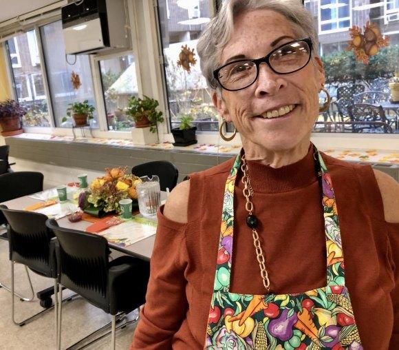 Roosevelt Island Disabled Association President Wendy Hersh.