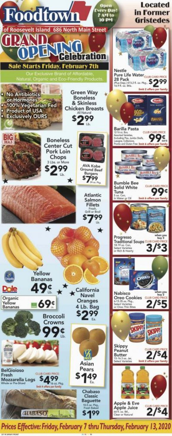 FOODTOWN First Weekly Circular