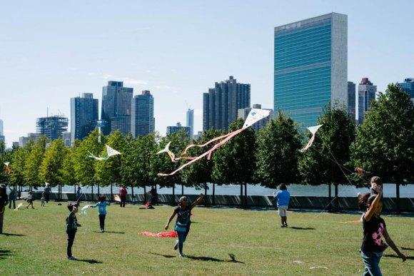 Kite Flight for Peace, September 22nd, FDR Four Freedoms Park