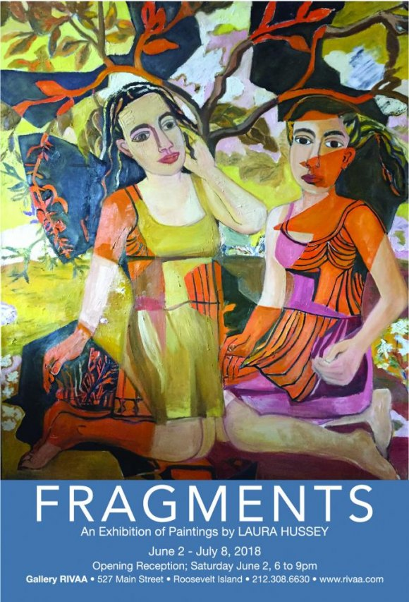 Continuing, Fragments by Laura Hussey, Gallery RIVAA