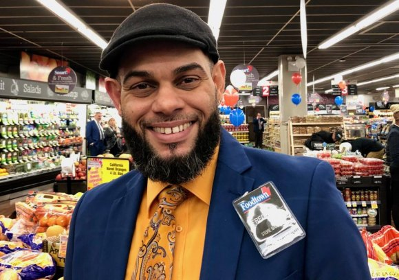 Meet Freddy G., Foodtown's Roosevelt Island Manager.