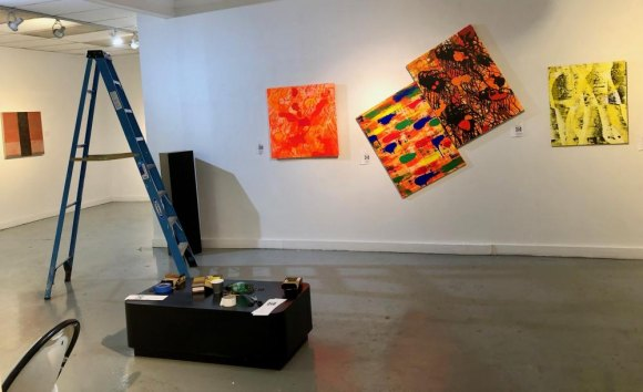 "Until September 1: ""Unexpected,"" a Gallery RIVAA Group Show"