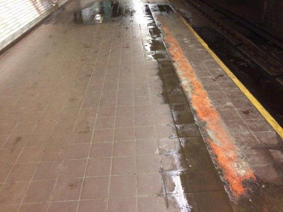 Roosevelt Island's leaky subway station