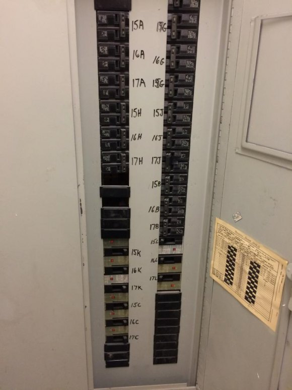 A look inside one of Manhattan Park's hidden electric closets