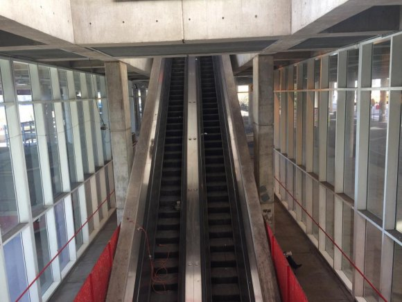RIOC could do us all a favor by fixing the Motorgate escalator. Wanna bet it'd take less than $14,000,000? Glide down, hop straight out to the East Promenade.