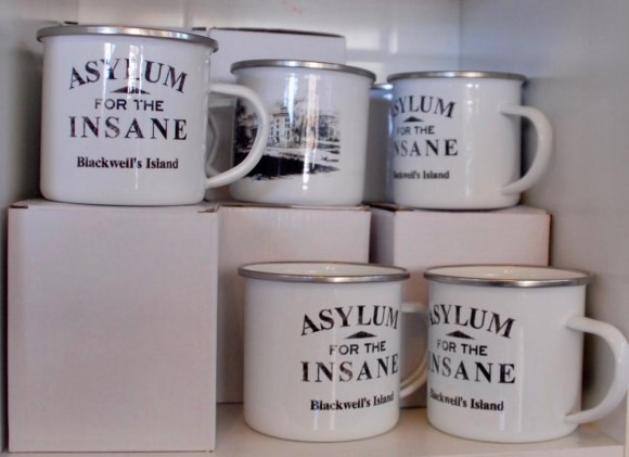 Ironically, the Insane Asylum, its foundation adapted by the Octagon, is a popular souvenir theme.
