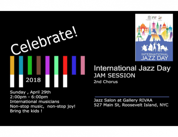 TODAY, Gallery RIVAA Celebrates International Jazz Day