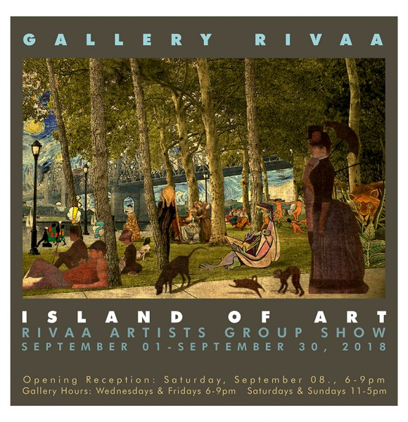 "Continuing, ""Island of Art"" at Gallery RIVAA"