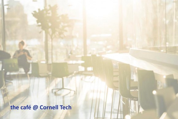 Meet Chris Lewis: Cornell Tech café's Dynamic New Leader