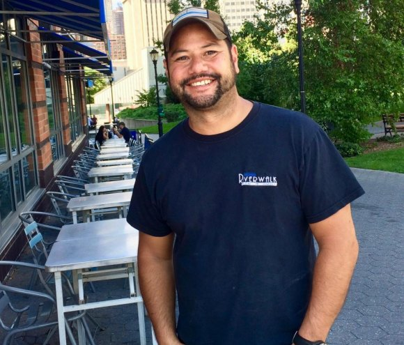 Closing up shop, Riverwalk Bar & Grill owner Jonathan Hoo said shutting down Octagon Field cost him 600 customers... and his business.