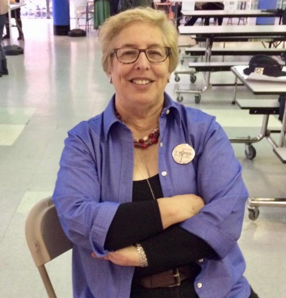 For Judith Berdy, successful November 6th voting marked the culmination of weeks of effort.