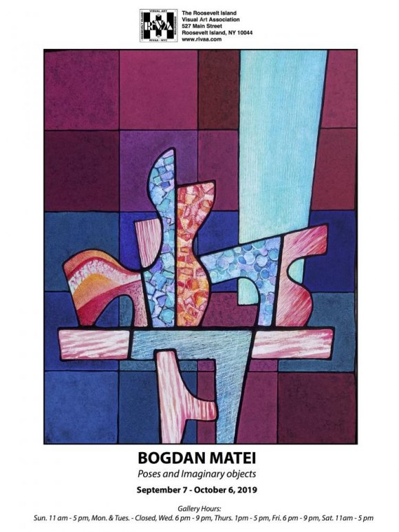 Until October 6th, Bogdan Matei, Poses and Imaginary Objects, Gallery RIVAA
