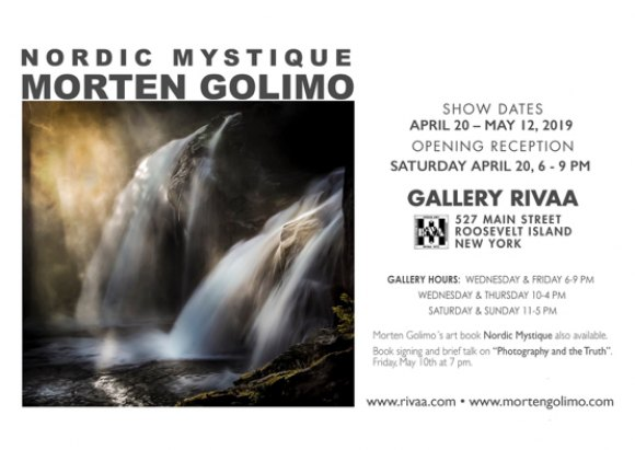 Tonight at 7:00, Book Signing by Morten Golimo, Gallery RIVAA