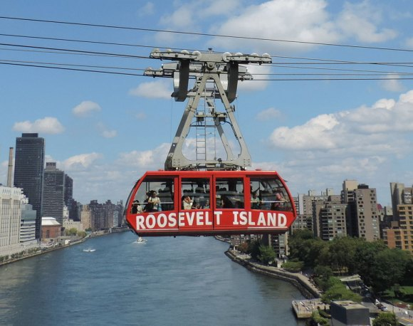 Subway, Tram, Ferry, Helix, Roosevelt Island's Transportation Oddities