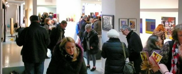 RIVAA's Vernissage Group Show in March