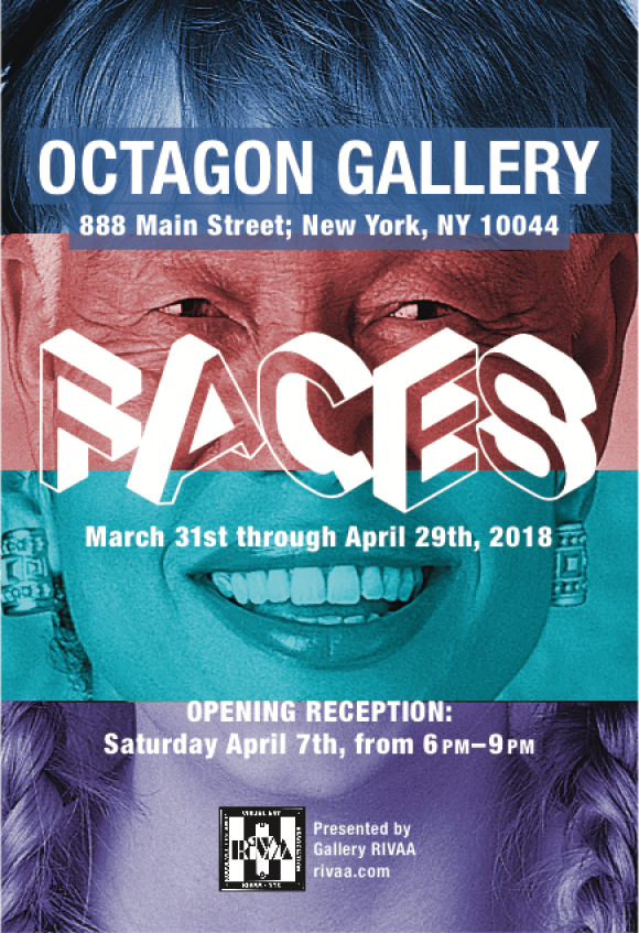 Continuing: Faces, RIVAA Group Show at the Octagon