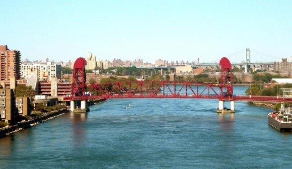 Roosevelt Island Bridge provides vehicle access and egress.