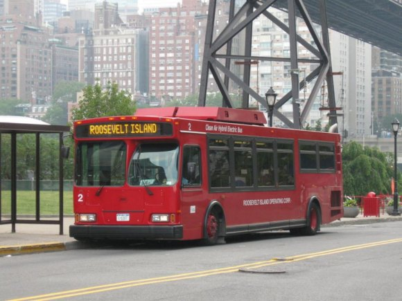 RIOC Shuts Down the Tram for Sunday, Reduces Shuttle Bus Support