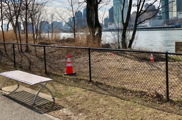 RIOC claims this space is unsafe and must be remade in the image of Brooklyn Bridge Park.