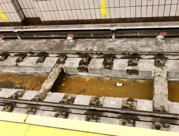 The update's not perfect, of course, as debris and sludge linger on the track bed.