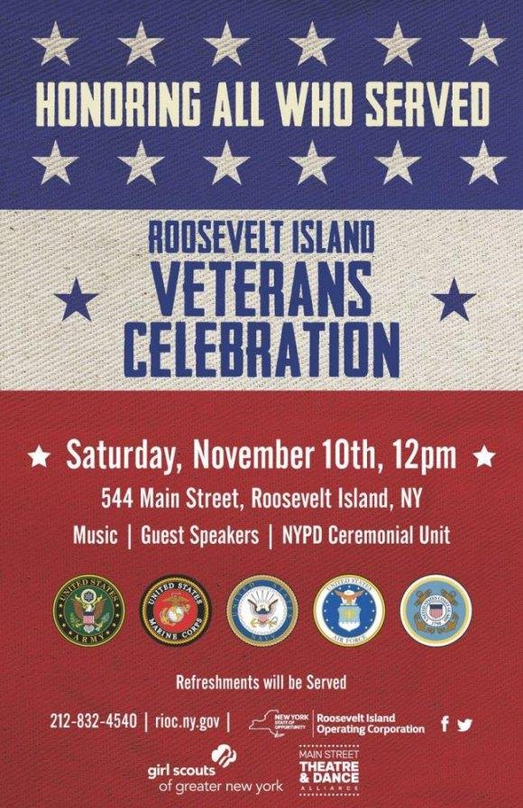November 10th, Veterans Day Celebration