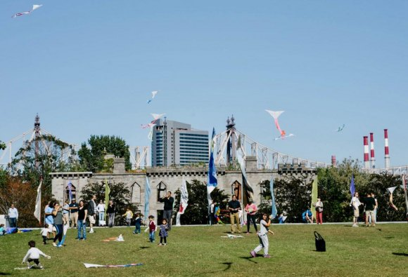 Kite Flight for Peace & Human Rights 2019, FDR Four Freedoms Park