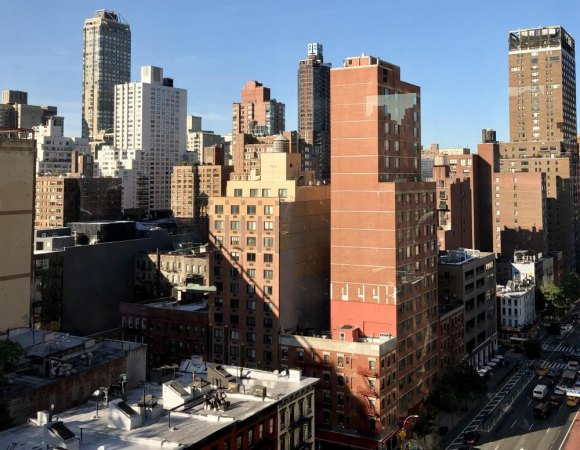 On the Upper East Side, some towers go naked, but most are disguised behind barriers.
