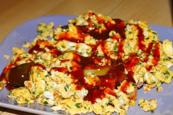 Scrambled eggs inspired by RIOC.