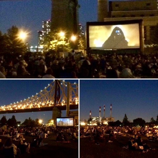 Movie Nights Last Summer on Roosevelt Island