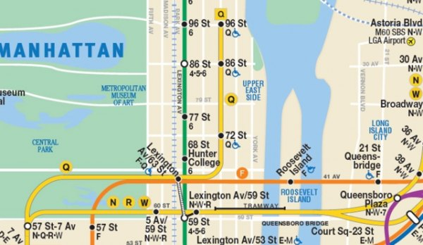 6 Train Subway Map.2nd Avenue Subway What It Means For Roosevelt Islanders Roosevelt