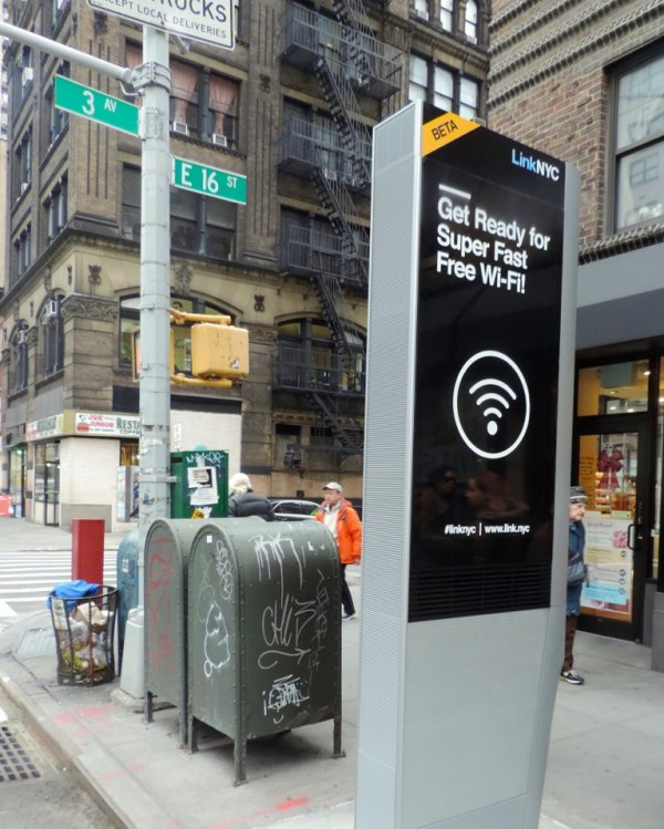 LinkNYC Free Wi-Fi Kiosk Coming Soon - With Company