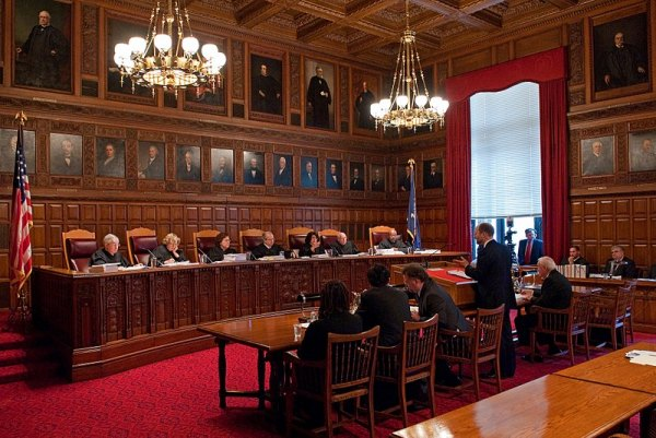 New York State Court of Appeals In Session