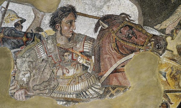 Alexander the Great Mosaic / Naples National Archaeological Museum