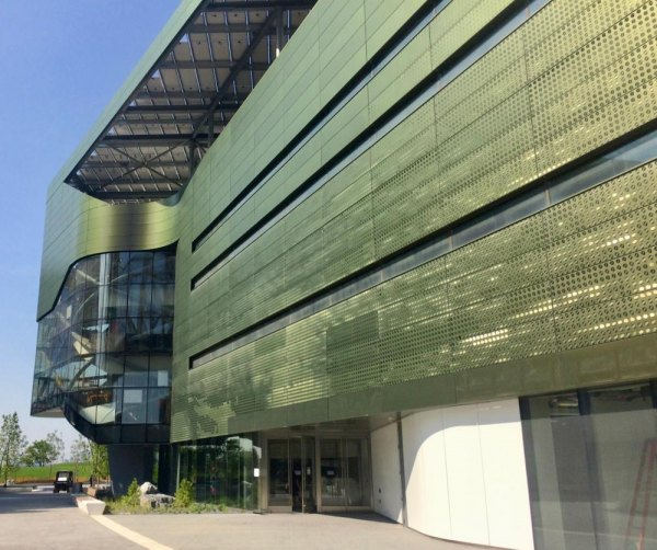 Already open to the public, the Bloomberg Center is one of the most environmentally innovative buildings in the world.