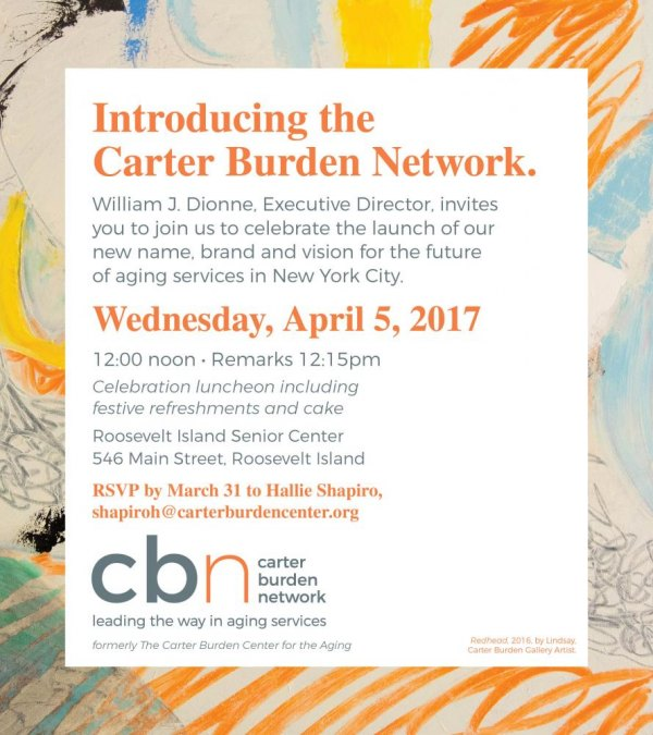 Carter Burden: What's In a Name?