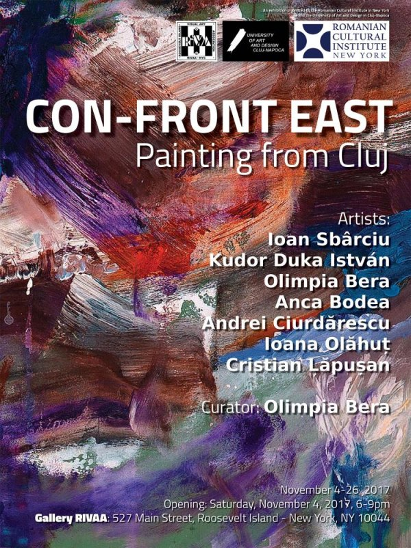 At Gallery RIVAA: CON-FRONT EAST / Painting from Cluj-Napoca